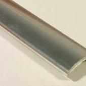 Профиль накладной С-16 жесткий декор титан 2,8м