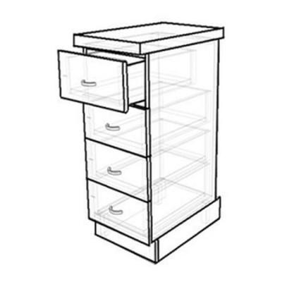 Кухонный стол с 4-мя ящиками