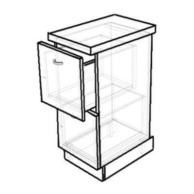 Кухонный стол с двумя ящиками