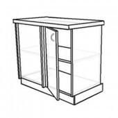 Кухонный стол угловой линейный