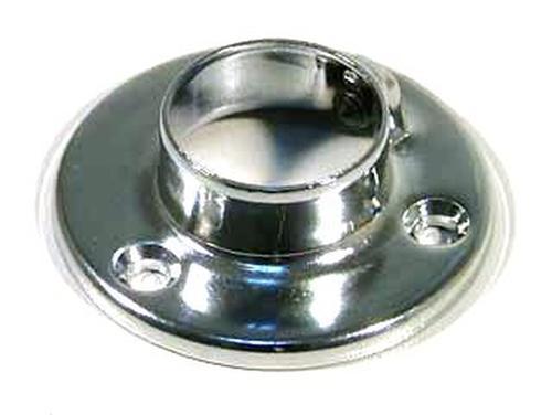 Фланец с фиксатором для трубы D=25 сталь