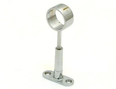 R50R (GP50R) крепеж для трубы D=25 сквозной дистанционный хром