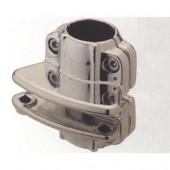 R61 (JR80) крепеж для панели односторонний хром